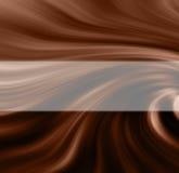 свирль шоколада Стоковое Фото