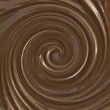 свирль шоколада Стоковые Фотографии RF