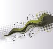 свирль backgrownd флористическая иллюстрация штока