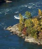 Свирль Rapids в реке Стоковая Фотография RF