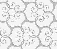 Свирли Perforated перекрывая Стоковые Изображения