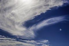 Свирль облака Стоковые Изображения RF