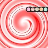 Свирль продукта с вариантами цвета Стоковое фото RF