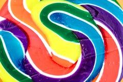 Свирль Lollypop конфеты Стоковое Изображение