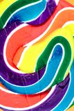 Свирль Lollypop конфеты Стоковая Фотография RF