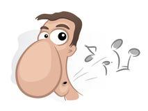 свистеть человека Стоковые Изображения RF
