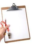 свисток clipboard Стоковое Изображение
