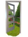 свобода двери к Стоковая Фотография RF