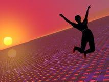свобода скача к Стоковое фото RF