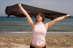 свободная женщина Стоковые Изображения RF