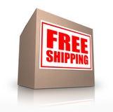 свободная коробки стоимая картоном отсутствие перевозкы груза корабля иллюстрация вектора