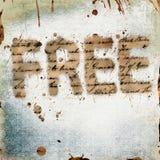 свободное grunge Стоковое Изображение