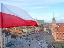 Свободный ветерок флага Стоковое Фото