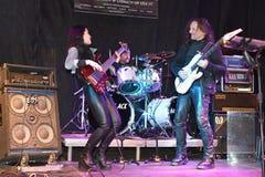 Свободный концерт г-на Рок-группа минтаев, Варшава, 2017-11-11 Стоковое Фото