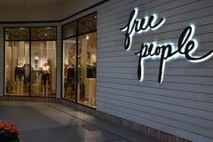 Свободный магазин людей на Galleria в Edina, Минесоте Стоковая Фотография RF