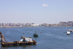 Свободный полет Александрия и архив Александрия Стоковые Фото