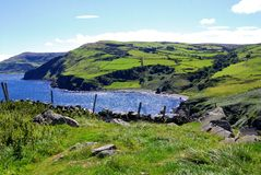 свободный полет Ирландия antrim северная Стоковая Фотография