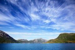 свободный полет Норвегия Стоковое Изображение RF