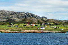 свободный полет северная Норвегия стоковое фото