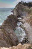 свободный полет dorset Англия юрская Стоковое фото RF