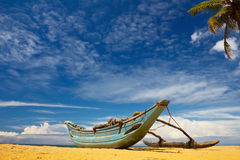 Свободный полет Sri Lanka солнечный Стоковые Фотографии RF