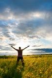свободный человек Стоковые Фото