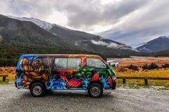 Свобода в южных озерах, Новой Зеландии Стоковое фото RF