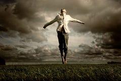 Свобода летания человека Стоковые Фотографии RF