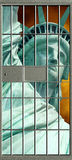 Свобода против утеснения стоковая фотография