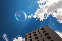 Свобода пузыря мыла Стоковое Фото