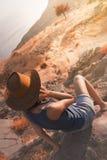 Свобода путешествовать на осени Стоковое фото RF