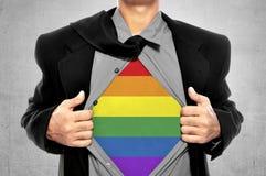 Свобода LGBT схематическая Стоковое Изображение RF