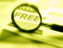 свободная бесплатная раздача Стоковые Изображения RF