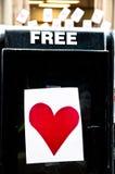 Свободная влюбленность Стоковые Изображения