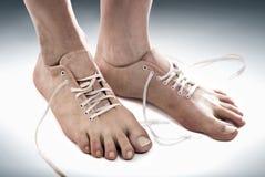 Свободная нога Стоковое фото RF