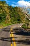 Свободная дорога вперед Стоковое Изображение