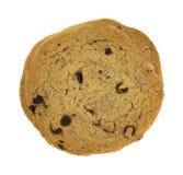 свободное от Клейковин печенье обломока шоколада на белой предпосылке Стоковое Фото