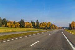 Свободное шоссе Стоковые Изображения RF