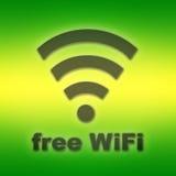 Свободное wifi Стоковое Изображение