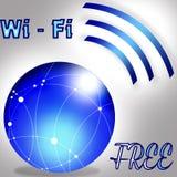 Свободные wi fi Стоковая Фотография