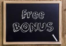 Свободный бонус Стоковое Изображение