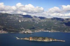 свободный полет montenegro Стоковое фото RF