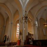 Своды на altarpiece стоковое изображение rf