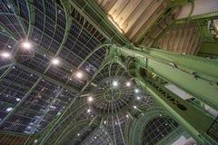 Своды от большого Palais в Париже стоковая фотография rf