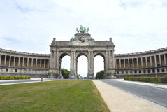 свод Бельгия brussels triumphal Стоковое фото RF