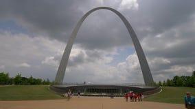 Свод ворот в Сент-Луис видеоматериал