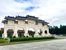 Свод квадрата свободы мемориальный на Chiang Kai-Shek мемориальном Hall стоковое изображение rf