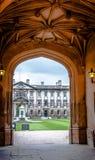 Свод Кембриджского университета Коллежа короля Стоковое Фото