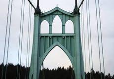 Свод моста St. Johns стоковое изображение