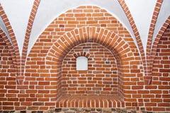 свод пошущенный над крестом Стоковые Фото
